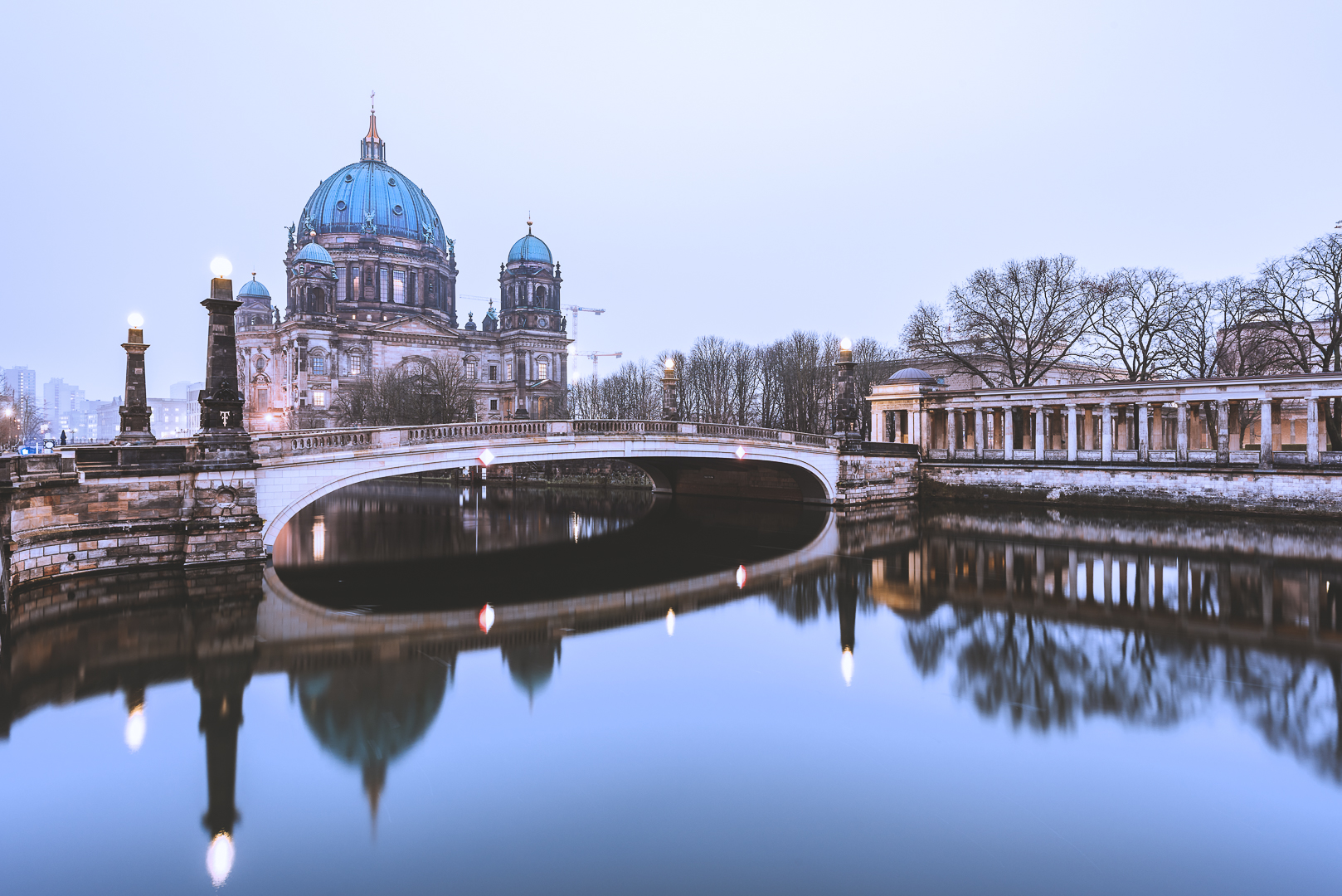 Berlin, Berliner Dom, Winter's Day, 2016, Spree
