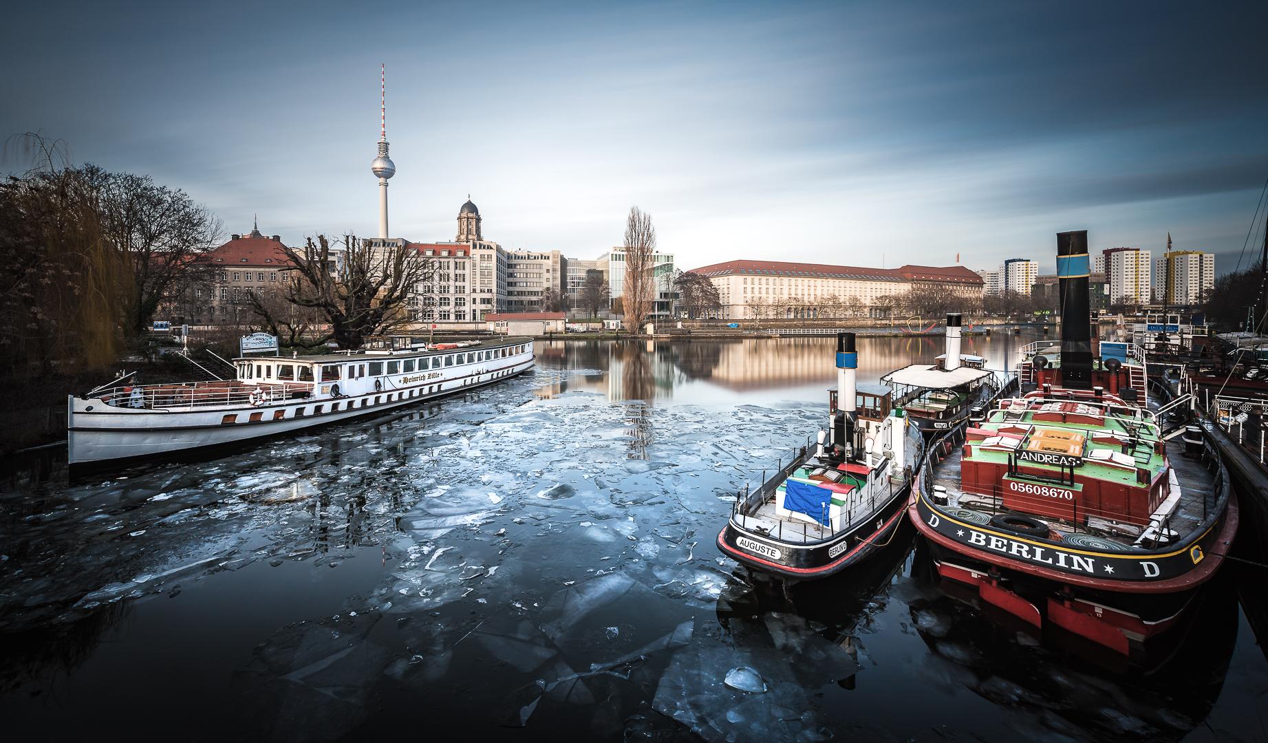Berlin, Historic Harbour, Historischer Hafen,