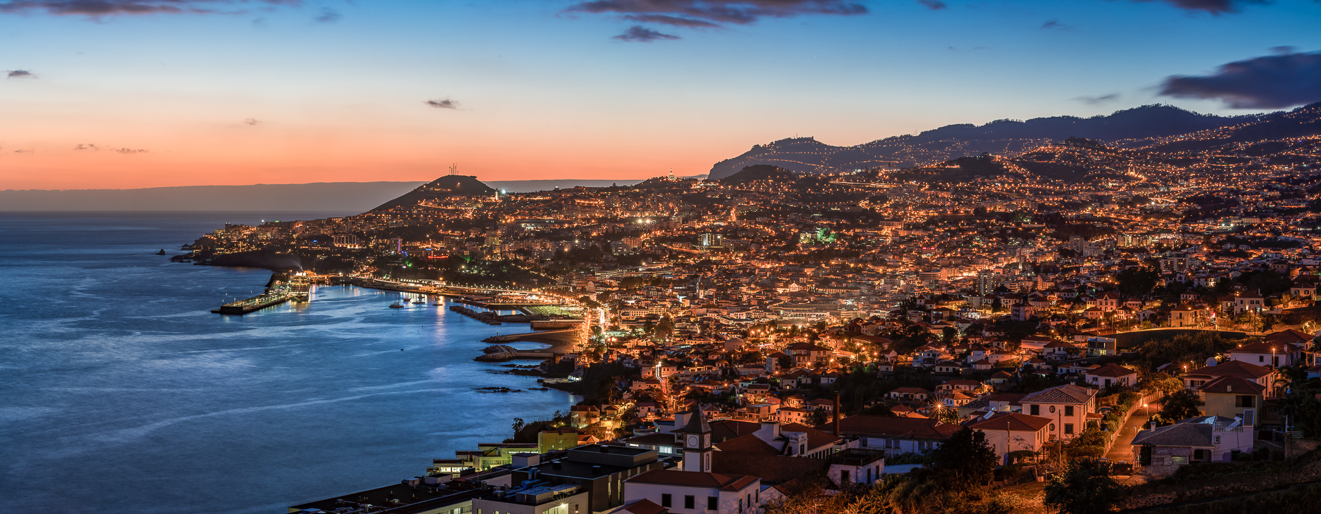 Madeira Island Portugal  City pictures : Madeira Island, Funchal, Panorama, Portugal, 2015