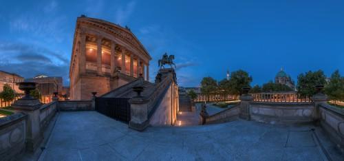 Berlin Alte Nationalgalerie, zweireihig, 2x18 Einzelaufnahmen, Nikon D810, Nikkor 14-24 @14mm, PS CC, 2015