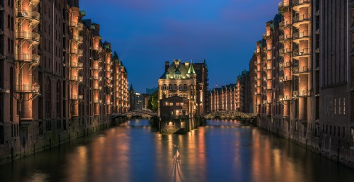 Hamburg Speicherstadt, Panorama, 6 Einzelaufnahmen, Nikon D810, Sigma 70-200mm @70mm, PS CC, 2015